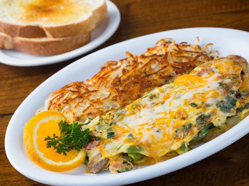 vegetarian omelette