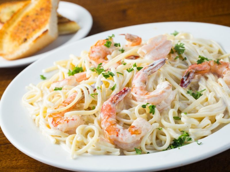 pasta shrimps