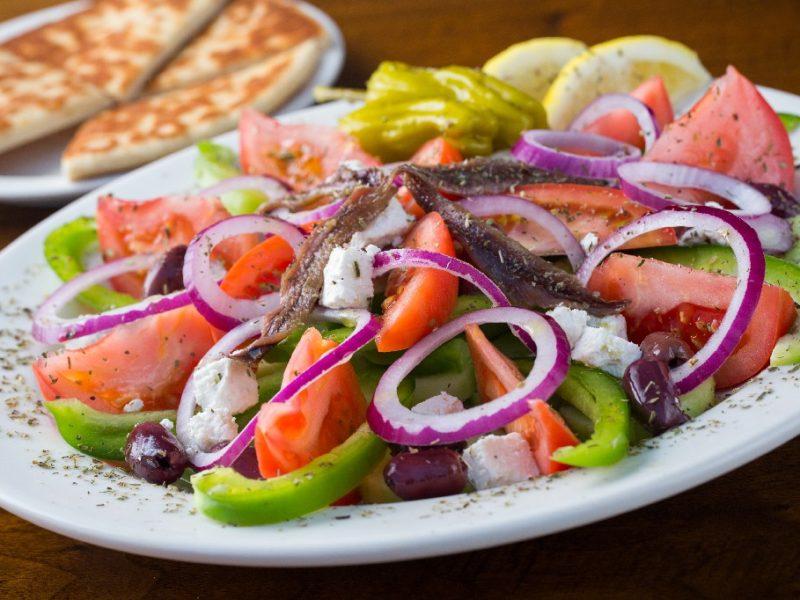 greek taverna salad