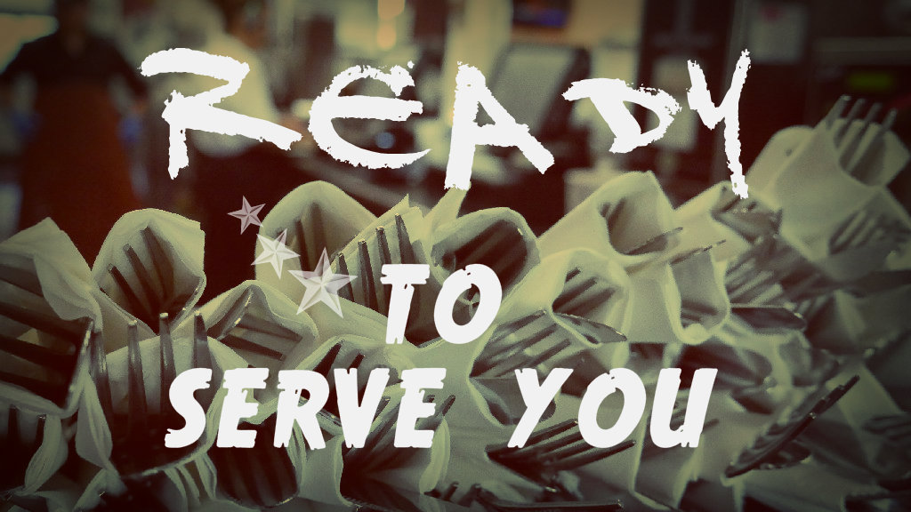 ready 2 serve you